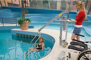 Barrierefrei ins Freibad oder Hallenbad - Spende für einen Schwimmbadlifter