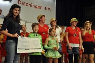 Spendenübergabe Kinderumzug Faschingsverein Dischingen e.V.
